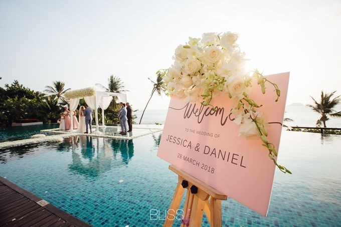Jessica and Daniel wedding at Conrad Koh Samui by BLISS Events & Weddings Thailand - 005