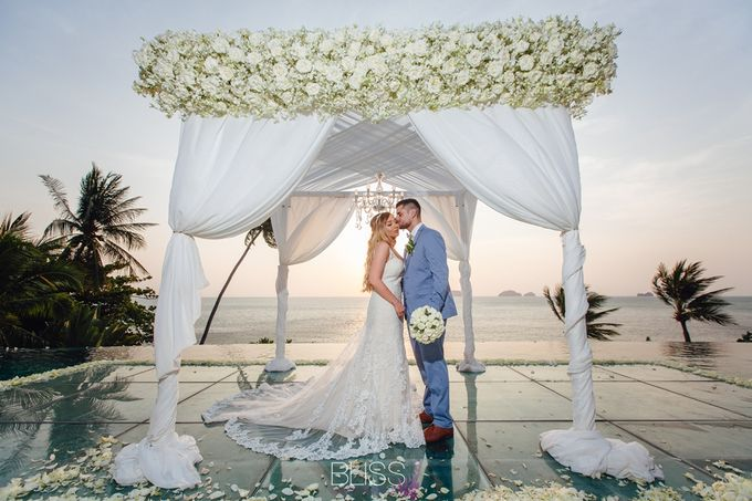 Jessica and Daniel wedding at Conrad Koh Samui by BLISS Events & Weddings Thailand - 009