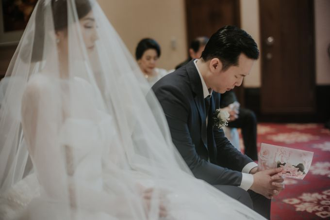 Holy Matrimony & Reception of Jonathan & Ellen by Atham Tailor - 005