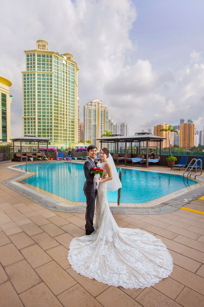 Four Points by Sheraton Wedding by GrizzyPix Photography - 001