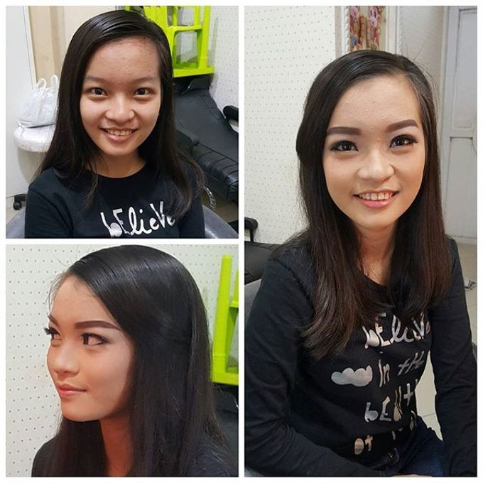 Soft Makeup Look by Veren Susanto Makeup Artist - 003