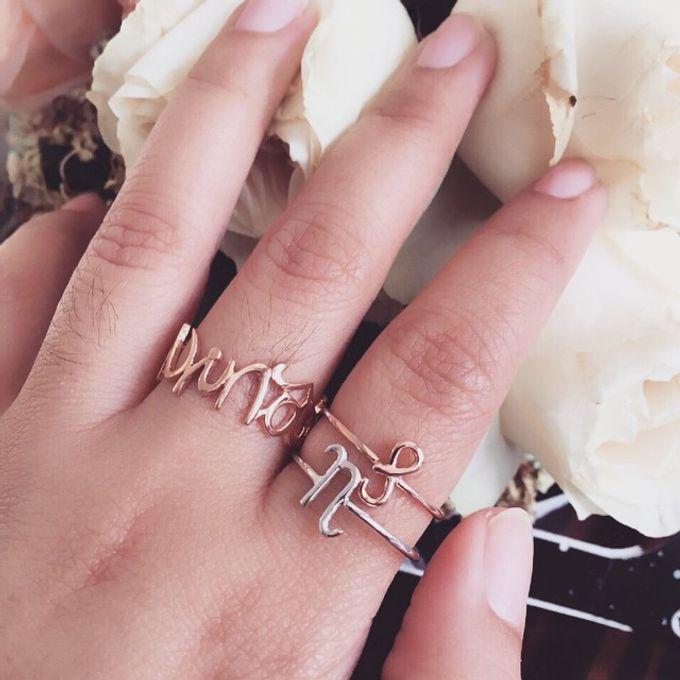 Name & Initial by DA Jewelry - 016