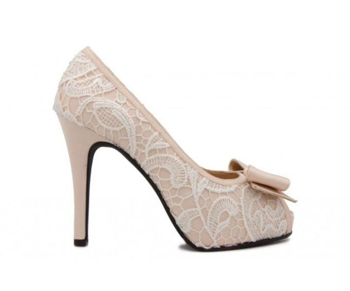 Custom made wedding shoes by Kate Mosella Custom Made Shoes - 006