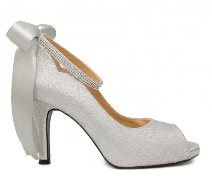 Custom made wedding shoes by Kate Mosella Custom Made Shoes - 004