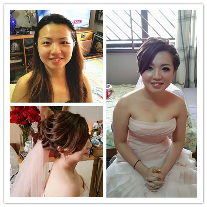 Wedding Makeup and hairstyling by Weiyee-makeup - 002