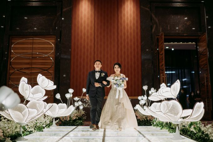 Skenoo Hall - International Wedding of Bima & Irene by IKK Wedding Venue - 004
