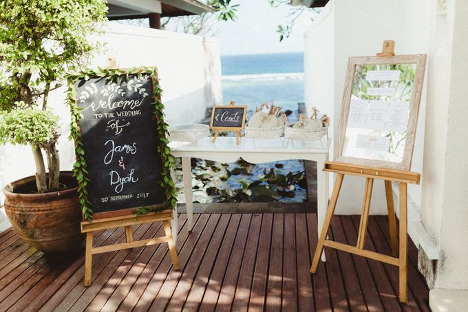 Modern Botanical Wedding of James & Dyah at Villa OMG Bali by PYARA - 009