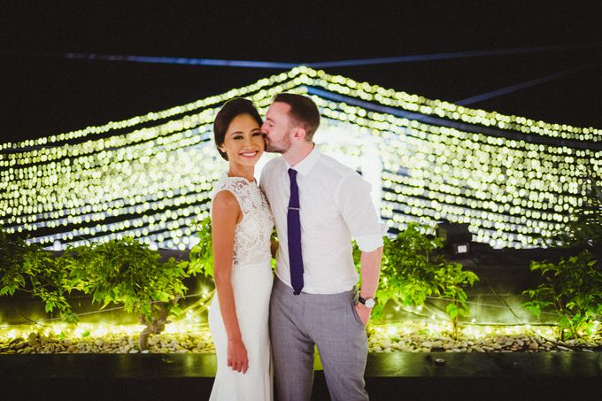 Modern Botanical Wedding of James & Dyah at Villa OMG Bali by PYARA - 020