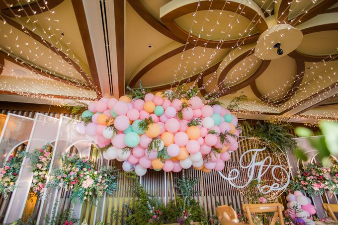 Welcome dinner at Aow Thai hall Conrad Koh Samui by BLISS Events & Weddings Thailand - 005