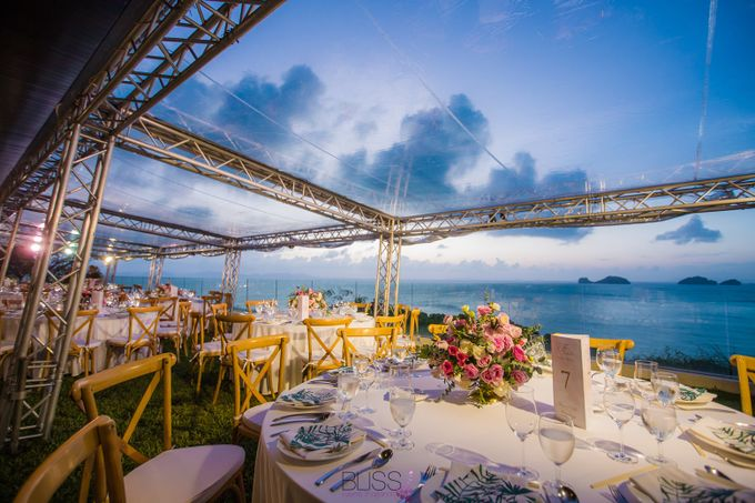 Welcome dinner at Aow Thai hall Conrad Koh Samui by BLISS Events & Weddings Thailand - 007