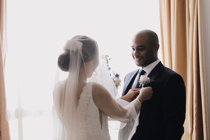 Felicia & Dwayne Wedding by The breath - 011