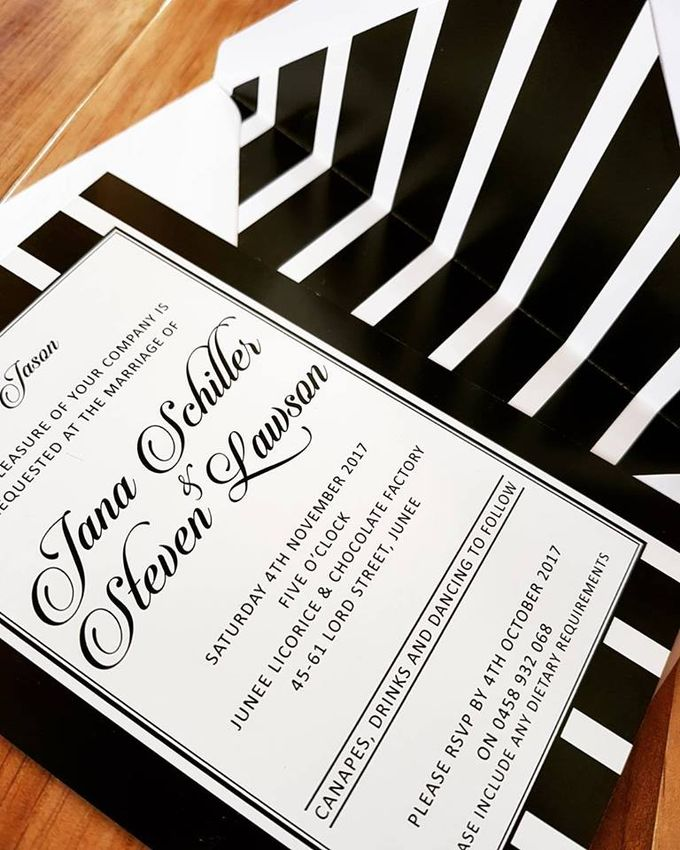 Black & White Classic by Amanda Riley Creative - 001