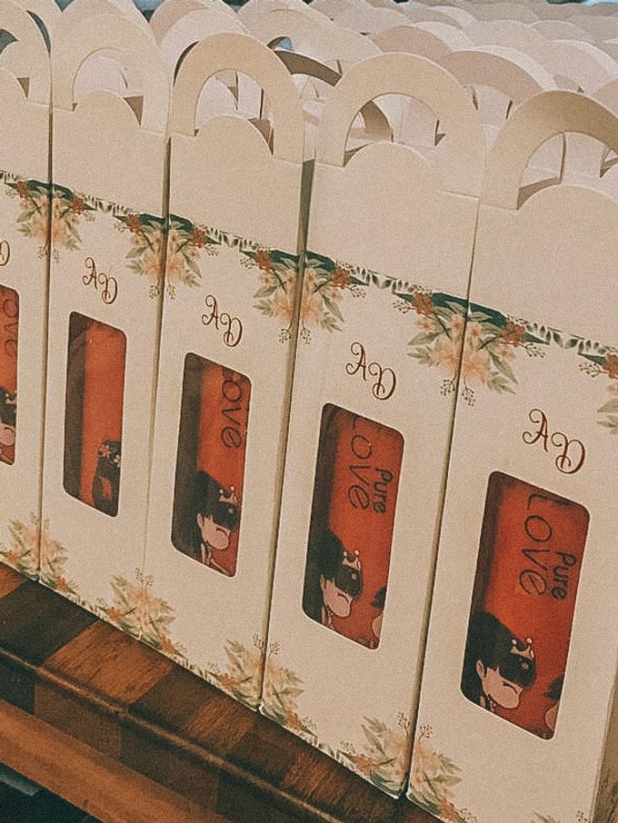 Dea & Adit Wedding by Jane Austen Gift - 004