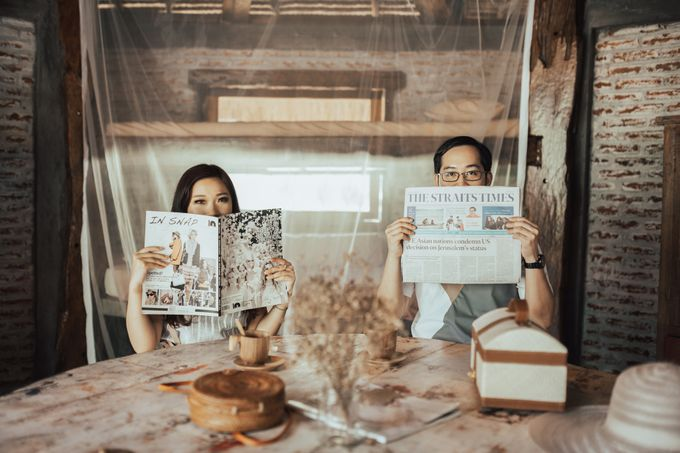 Forest Picnic Prewedding of Janissa & Kresna by fire, wood & earth - 017