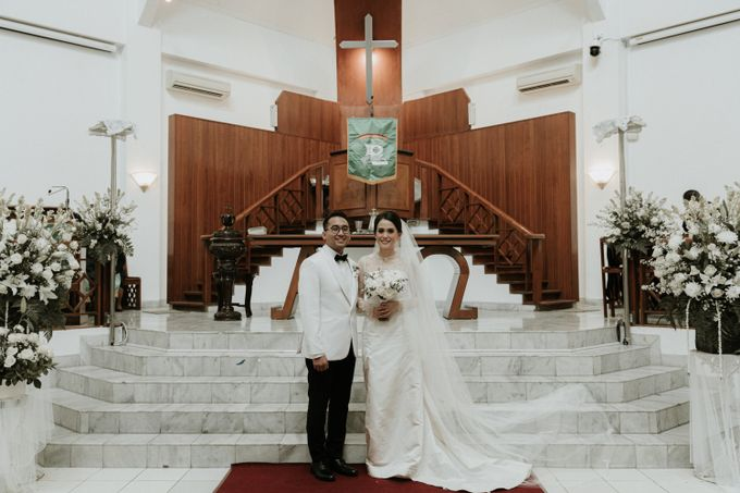 The Wedding of Dafy and Gaby by W The Organizer - 007