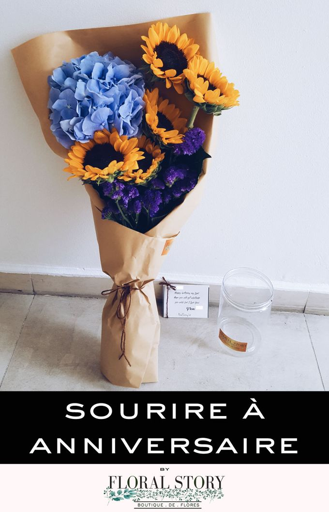 Sourire a Anniversaire by Floral Story Int - 002