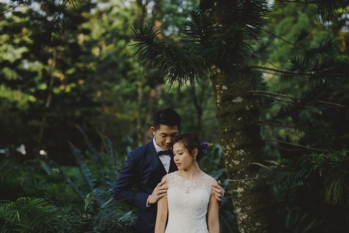 Prewedding shoot with Jaryl and Yella by By Priscilla Er / Makeup Artist - 005