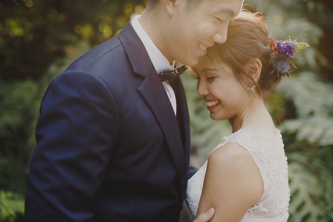 Prewedding shoot with Jaryl and Yella by By Priscilla Er / Makeup Artist - 004