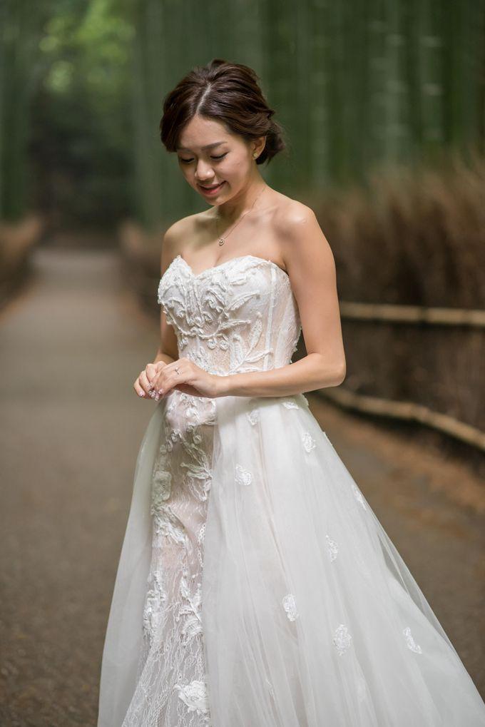 Bespoke wedding dress by Kelly's Bridals - 007