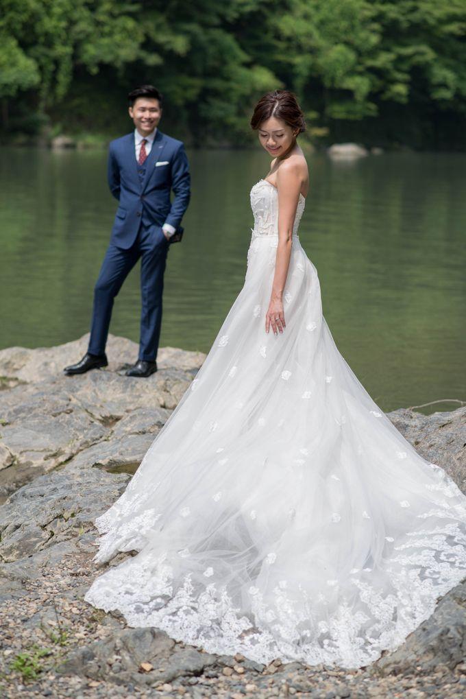 Bespoke wedding dress by Kelly's Bridals - 011
