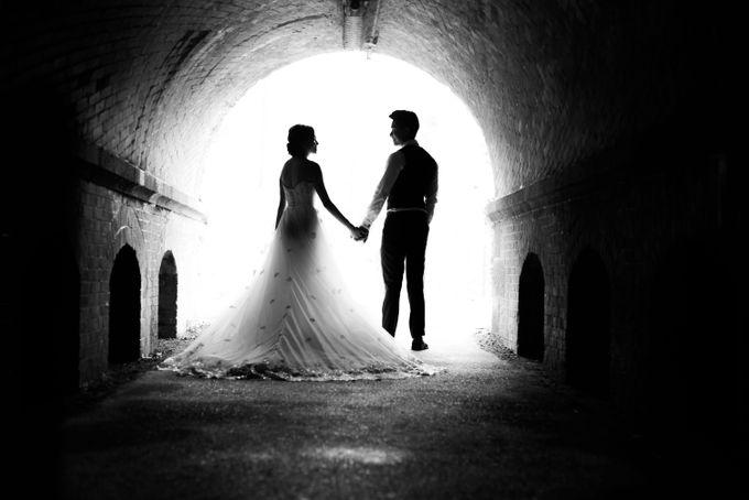 Bespoke wedding dress by Kelly's Bridals - 018