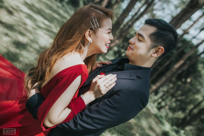 Fred and Rhegs Prenup Photo Session at Munting Gubat Tanay Rizal by The Jawiman Concept - 046