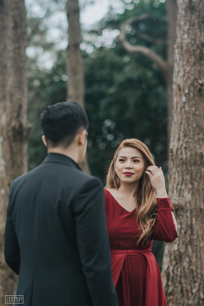 Fred and Rhegs Prenup Photo Session at Munting Gubat Tanay Rizal by The Jawiman Concept - 048