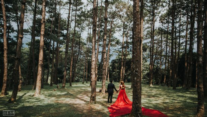 Fred and Rhegs Prenup Photo Session at Munting Gubat Tanay Rizal by The Jawiman Concept - 006