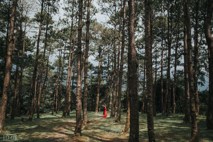 Fred and Rhegs Prenup Photo Session at Munting Gubat Tanay Rizal by The Jawiman Concept - 007