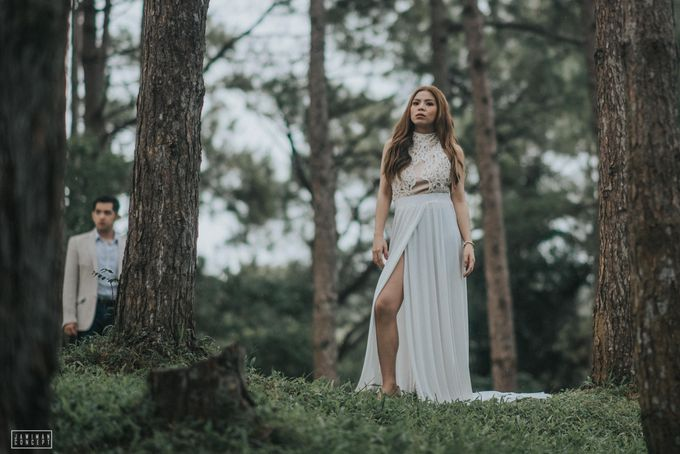 Fred and Rhegs Prenup Photo Session at Munting Gubat Tanay Rizal by The Jawiman Concept - 023