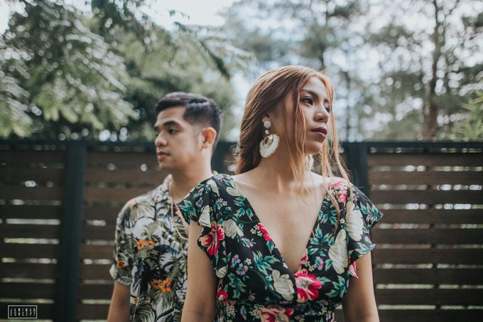 Fred and Rhegs Prenup Photo Session at Munting Gubat Tanay Rizal by The Jawiman Concept - 026