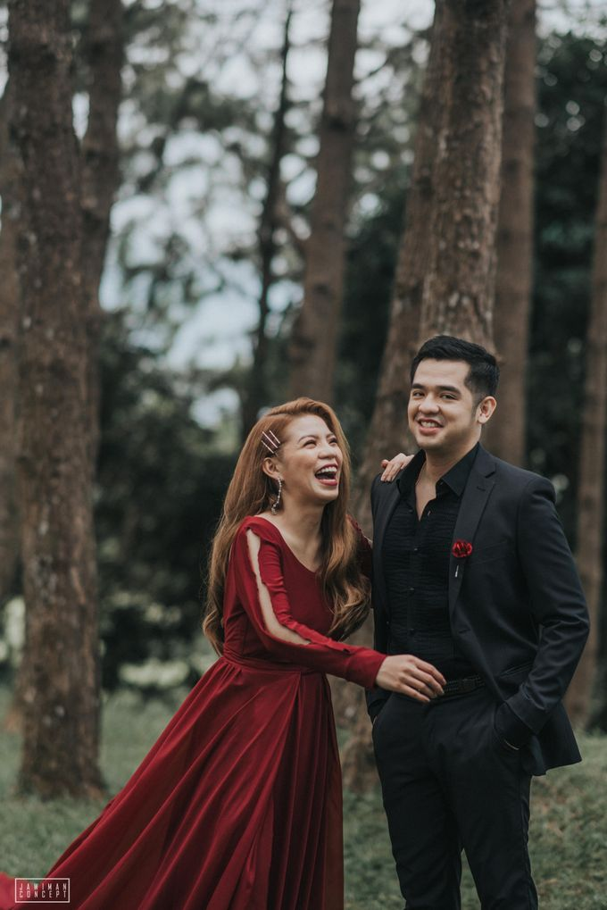 Fred and Rhegs Prenup Photo Session at Munting Gubat Tanay Rizal by The Jawiman Concept - 040