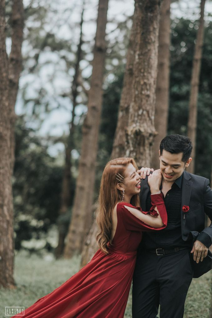 Fred and Rhegs Prenup Photo Session at Munting Gubat Tanay Rizal by The Jawiman Concept - 041