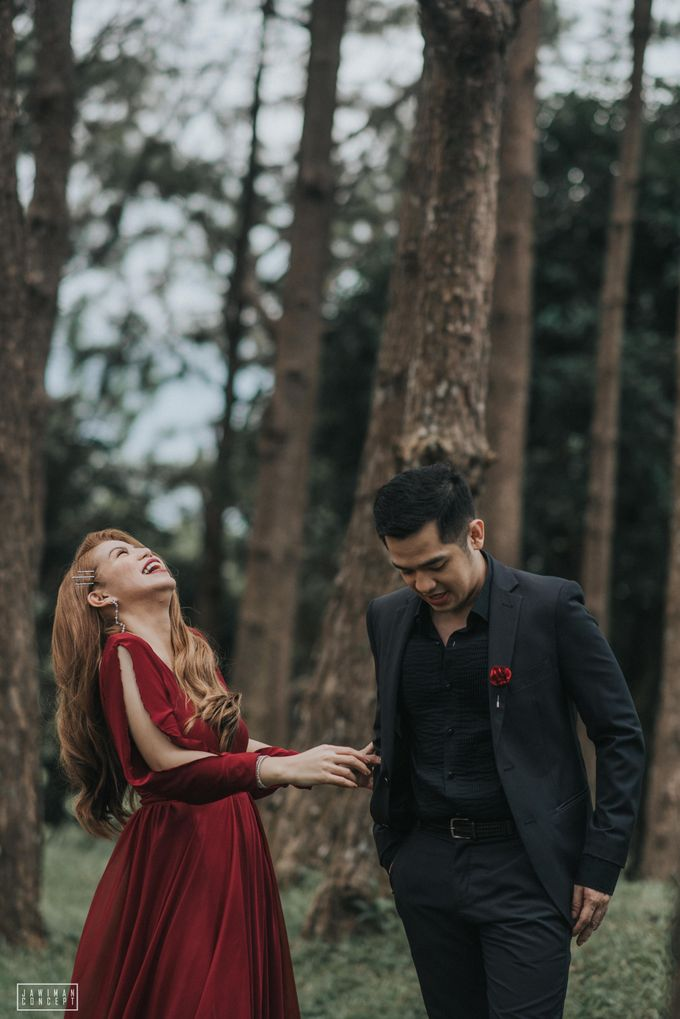 Fred and Rhegs Prenup Photo Session at Munting Gubat Tanay Rizal by The Jawiman Concept - 042