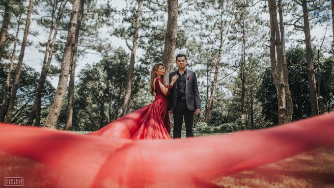 Fred and Rhegs Prenup Photo Session at Munting Gubat Tanay Rizal by The Jawiman Concept - 035