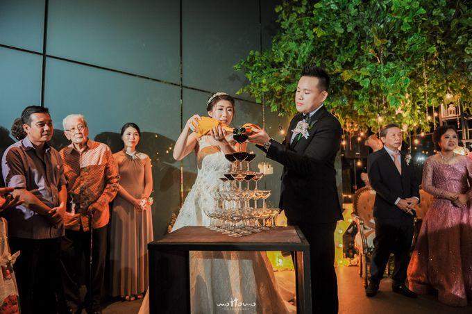 Wedding of Andrian & Yuannita by La'SEINE Function Hall - 004