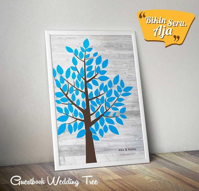 Canvas Guestbook Wedding Artwork (Tree-02) by Bikinseru.aja - 009
