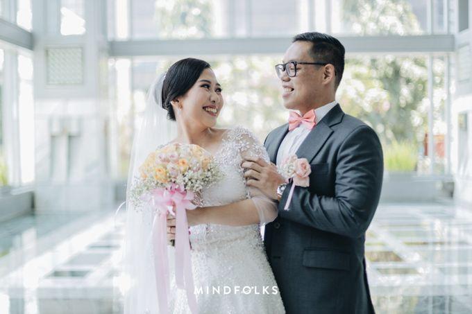 From Ricky & Desti Holy Matrimony by Skenoo Hall Emporium Pluit by IKK Wedding - 002