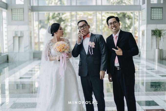 From Ricky & Desti Holy Matrimony by Skenoo Hall Emporium Pluit by IKK Wedding - 005