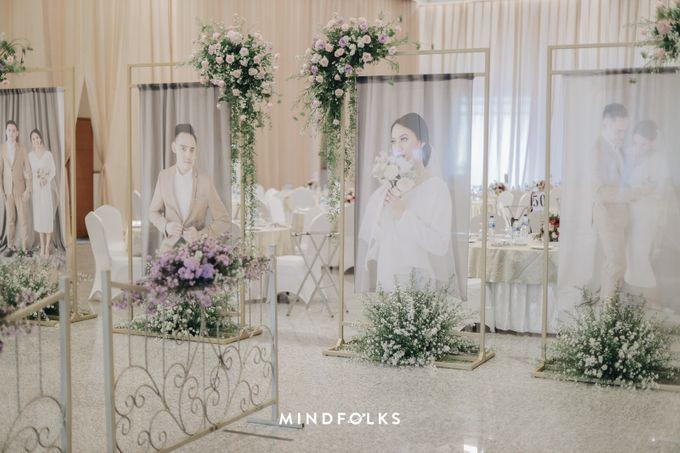 Foyer Decoration Inspiration for New Normal Wedding by Skenoo Hall Emporium Pluit by IKK Wedding - 003