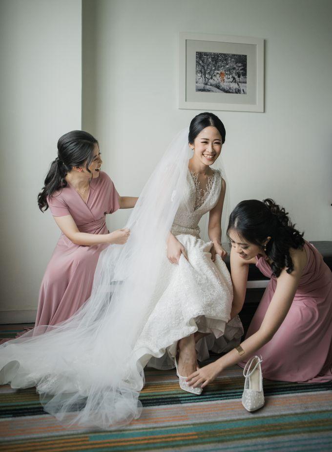 Markus & Tressi's Wedding by Cloche Atelier - 013