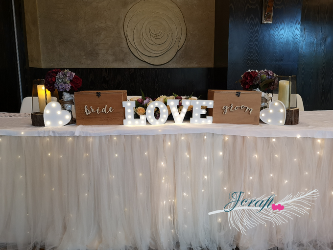 Reception Table Styling by Jcraftyourevents by Jcraftyourevents - 004
