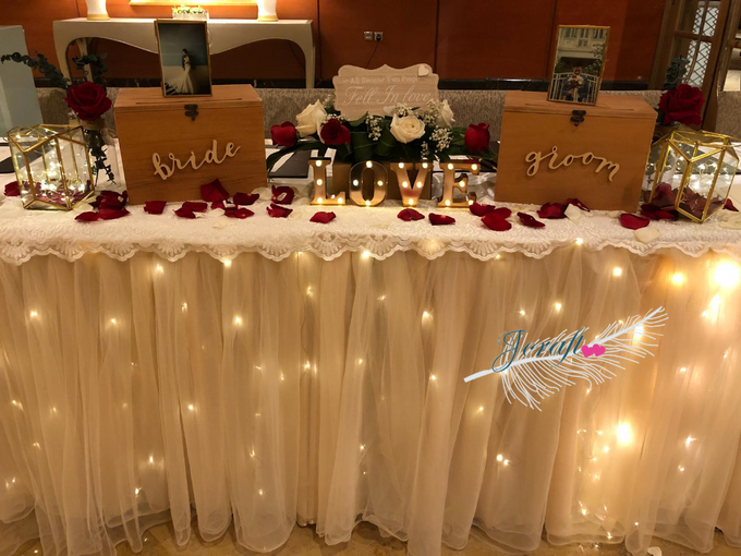 Reception Table Styling by Jcraftyourevents by Jcraftyourevents - 005
