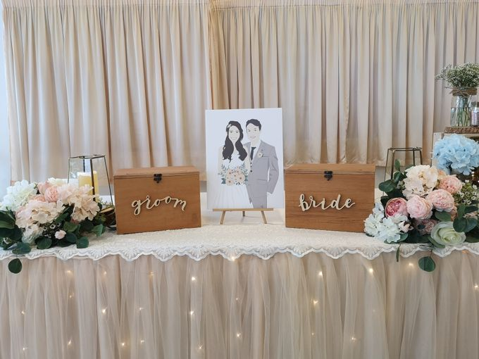 Reception Table Styling By Jcraftyourevents By