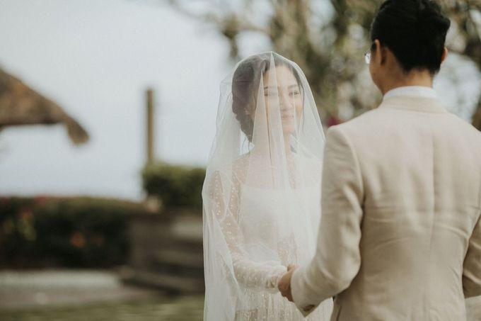 Chris & Calista Real Wedding at The Stone House by Tirtha by Tirtha Bali - 020