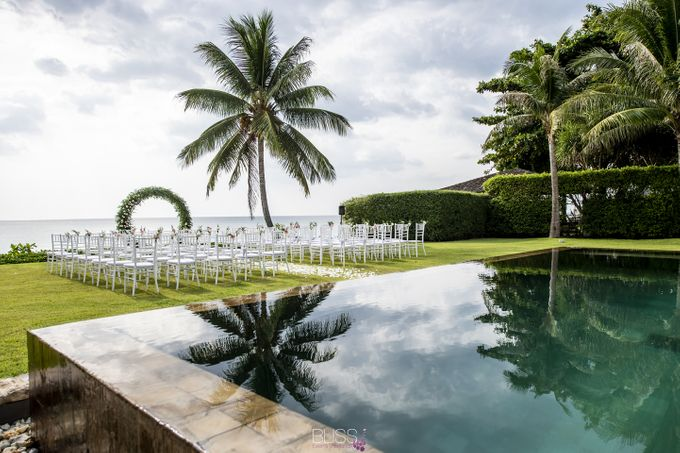 Zen & Tim wedding at Sava beach villas Natai beach by BLISS Events & Weddings Thailand - 009