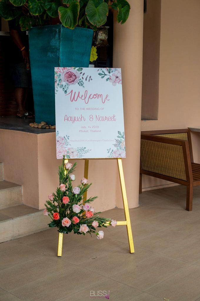 Aayush and Navreet indian wedding at westin siray bay Phuket Thailand by BLISS Events & Weddings Thailand - 020