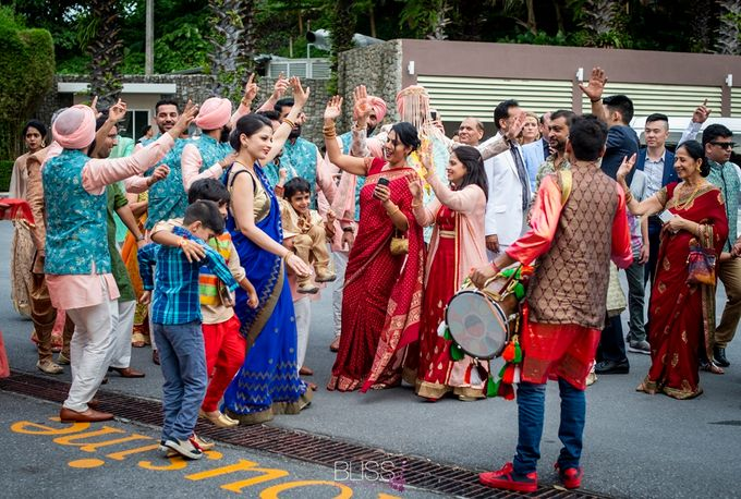 Aayush and Navreet indian wedding at westin siray bay Phuket Thailand by BLISS Events & Weddings Thailand - 022