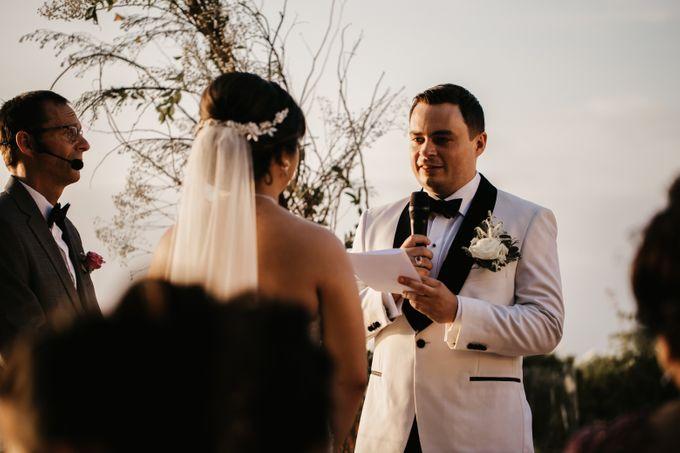 Intimate Sunset Wedding of  Caleb & Jeannie by Vilia Wedding Planner - 011