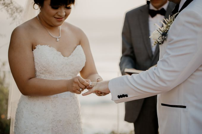 Intimate Sunset Wedding of  Caleb & Jeannie by Vilia Wedding Planner - 012